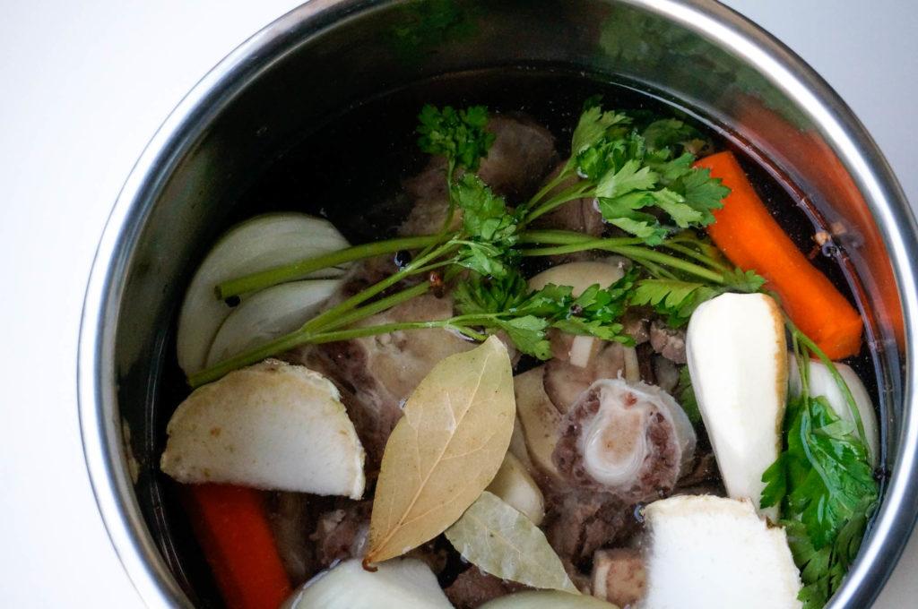 холодец из говядины без желатина instant pot